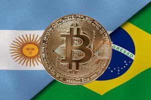 Le trading du Bitcoin (BTC) s'intensifie en Argentine et au Brésil