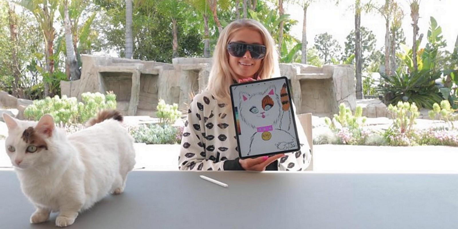 Paris Hilton vend le portrait de son chat sur Ethereum