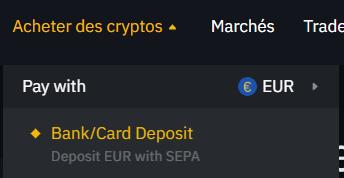 Acheter des cryptos par virement