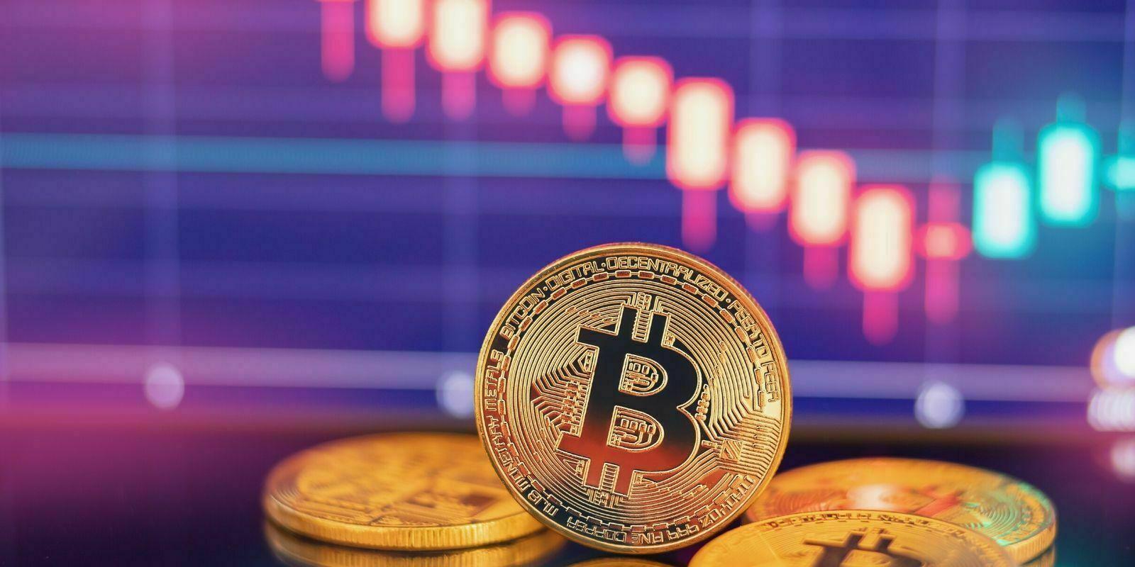 Le Bitcoin (BTC) chute et entraîne les altcoins dans son sillage