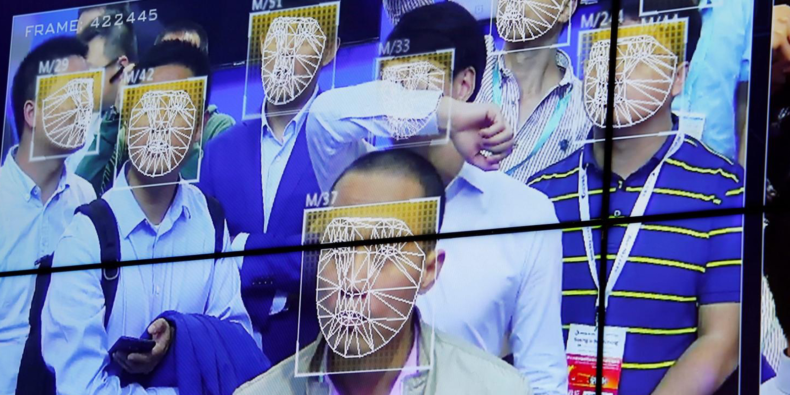 chine reconnaissance faciale blockchain