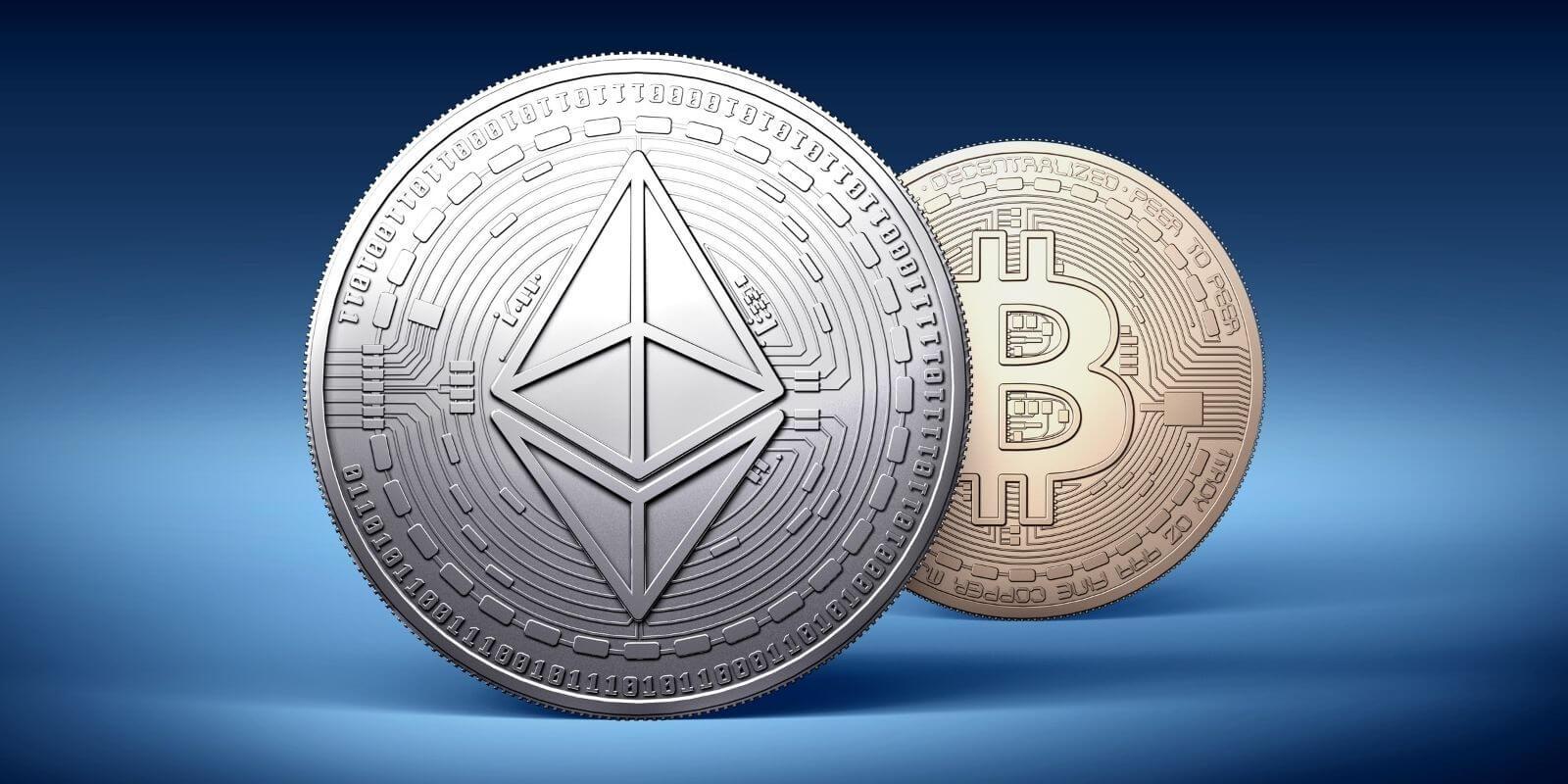L'Ether (ETH) a dépassé le Bitcoin (BTC) en termes de valeur échangée