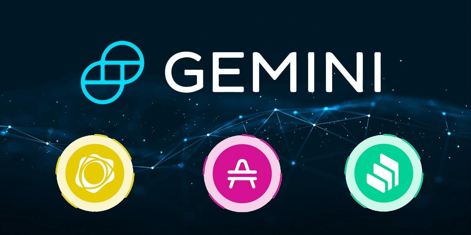 Compound, PAX Gold et AMP débarquent sur Gemini