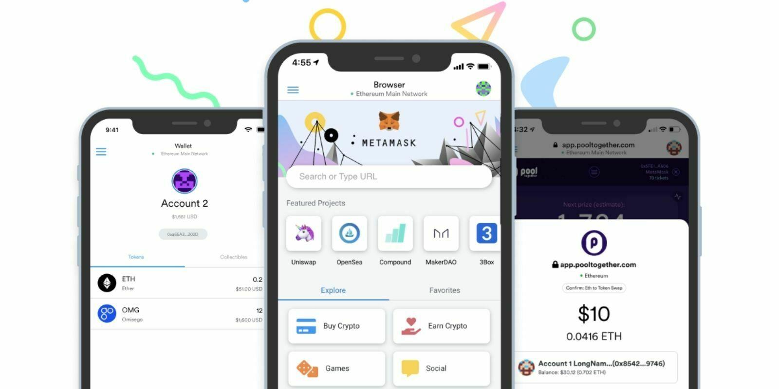 Le wallet MetaMask lance son application mobile sur iOS et Android
