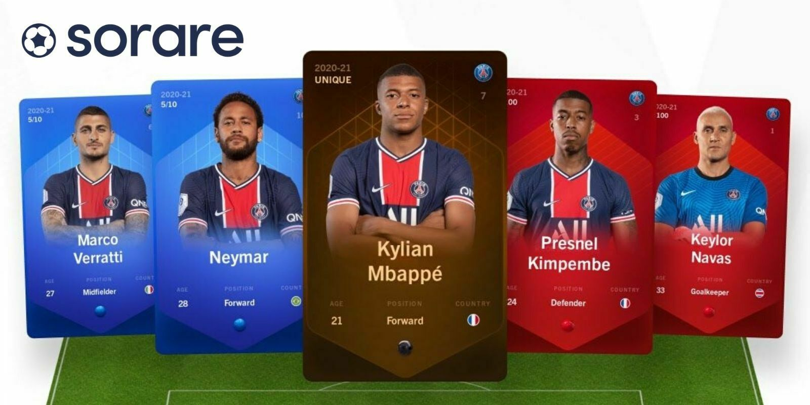 Le Paris Saint-Germain rejoint le jeu blockchain Sorare