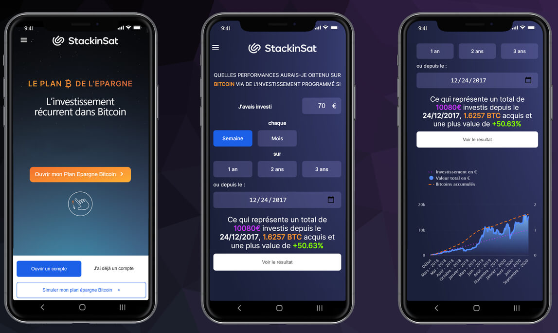 Application StackinSat