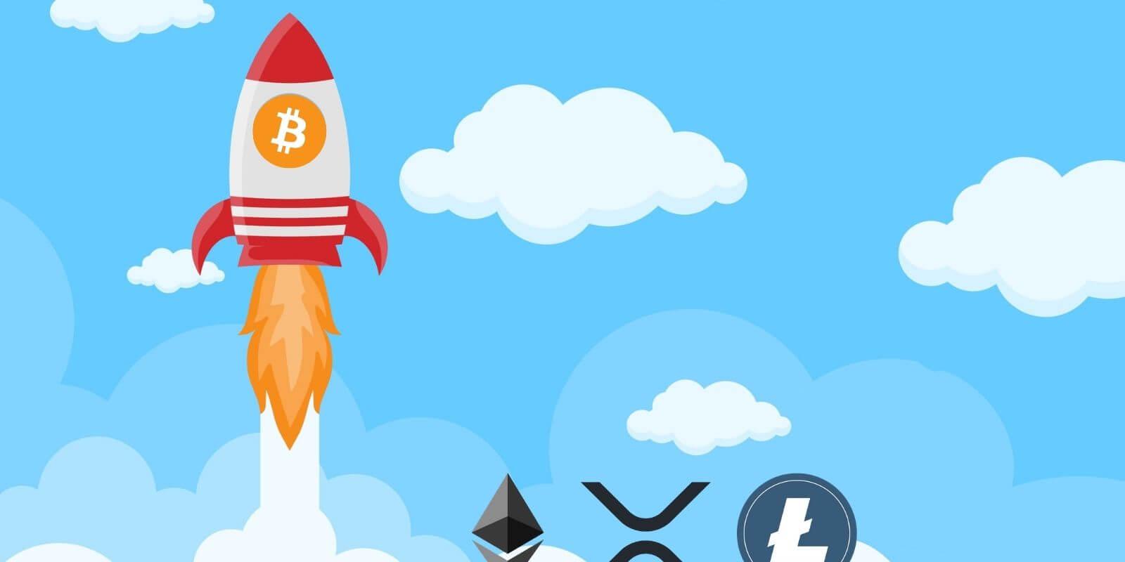 Un Bitcoin (BTC) à 12 200 $, qui fait la course en tête