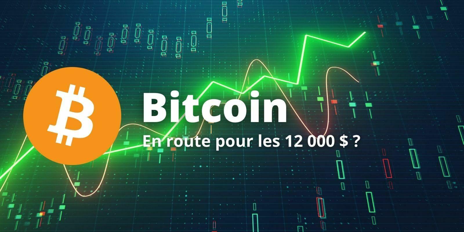Le Bitcoin (BTC) consolide avant de se diriger vers les 12 000 $