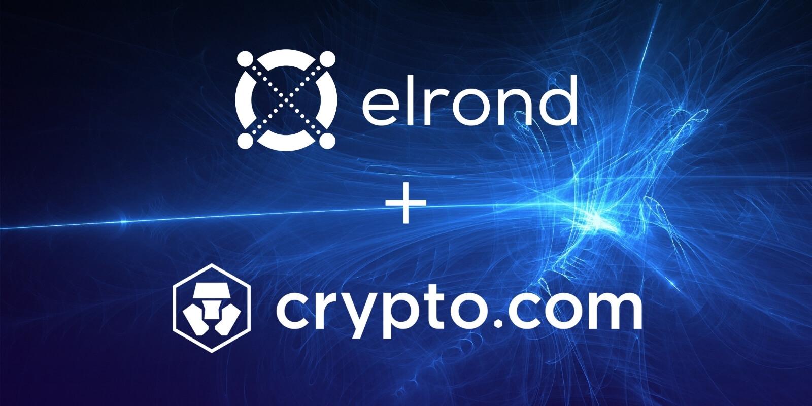Crypto.com liste l'eGLD et organise une vente à moitié prix pour le token