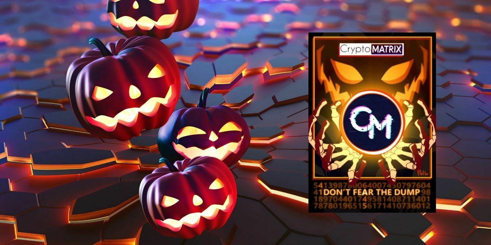 CryptoMatrix revient avec un NFT spécial Halloween, et un tas de surprises…