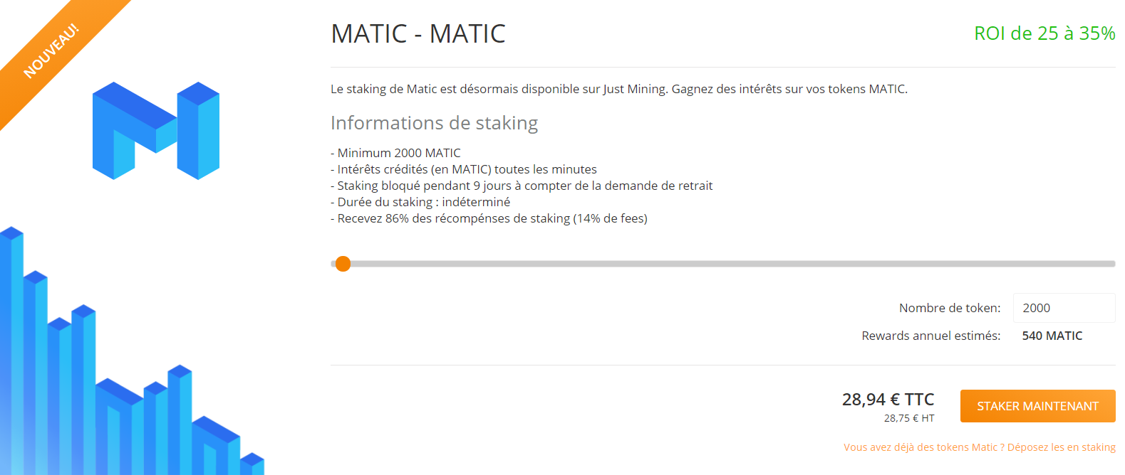 Matic Network Just Mining