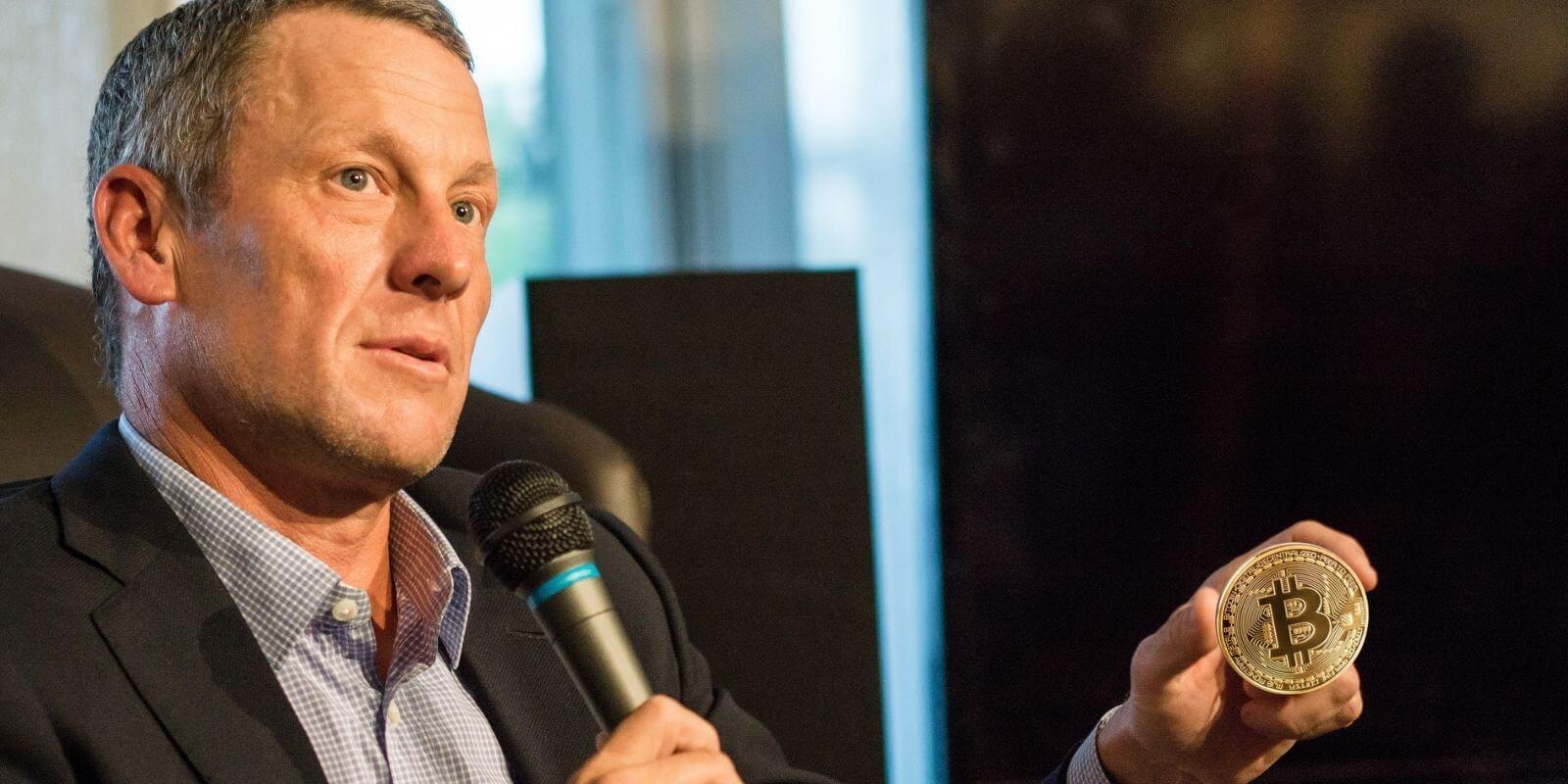 Lance Armstrong investit dans le Bitcoin (BTC)