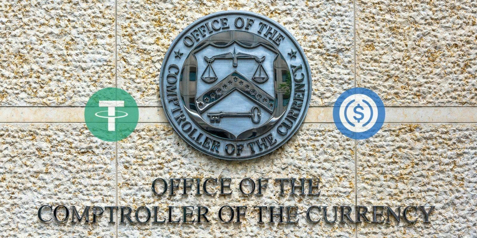 L'OCC va renforcer l'attrait des stablecoins adossés à 100% à une monnaie fiduciaire