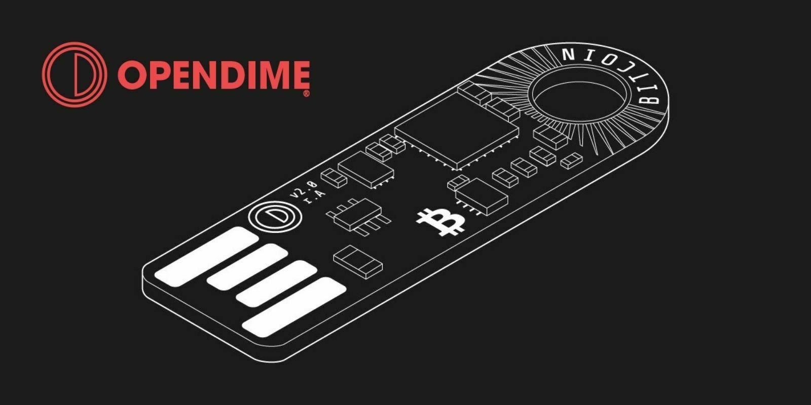 OpenDime : le wallet Bitcoin (BTC) dédié aux transactions physiques
