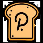 logo crypto polkadot forme toast