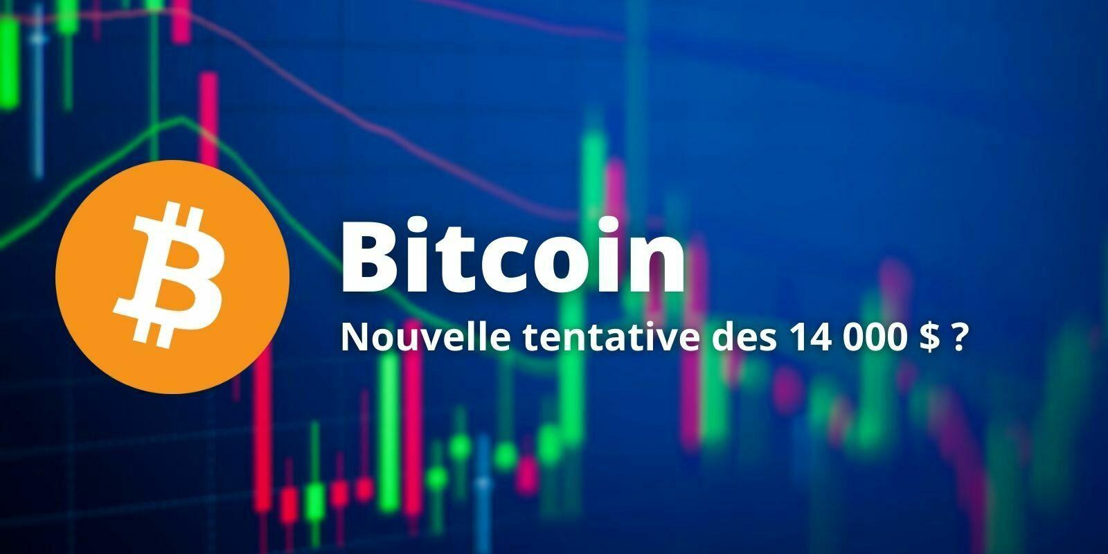 Le Bitcoin (BTC) consolide avant d'attaquer de nouveau les 14 000 $