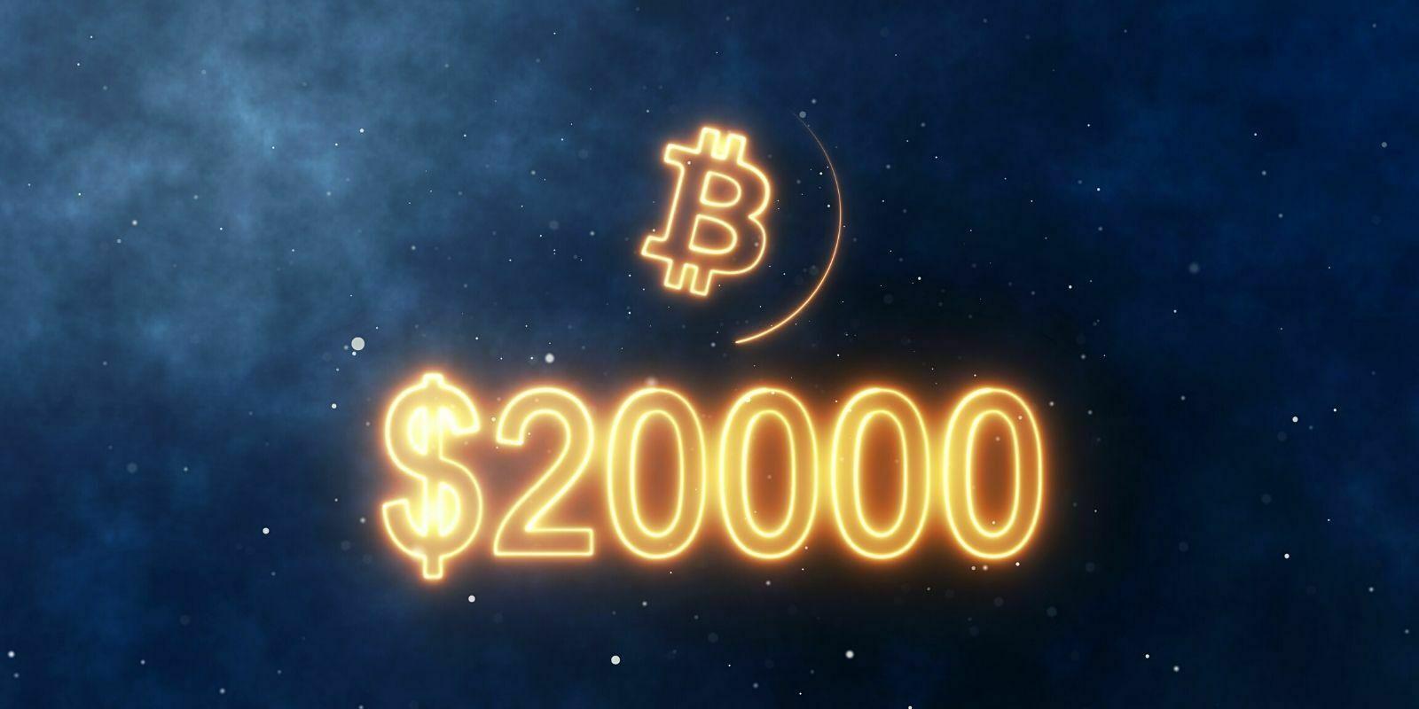 Le Bitcoin (BTC) établit un nouveau record historique et dépasse les 20 000 $