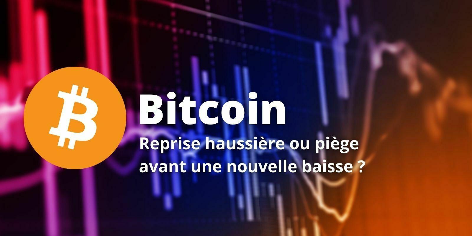 Le Bitcoin (BTC) remonte vers ses sommets après une rapide correction