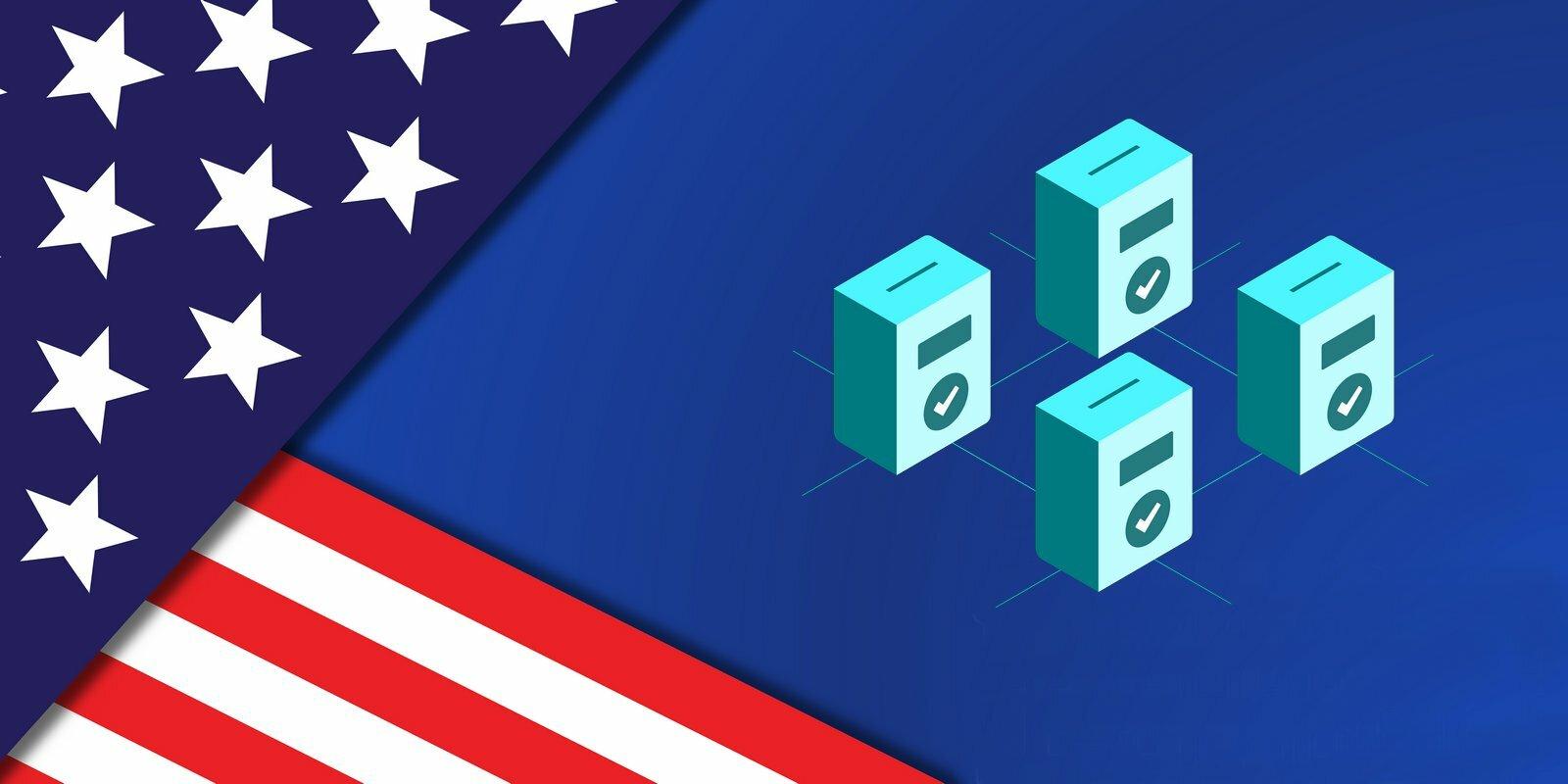 Élections américaines : la communauté crypto soutient le vote blockchain