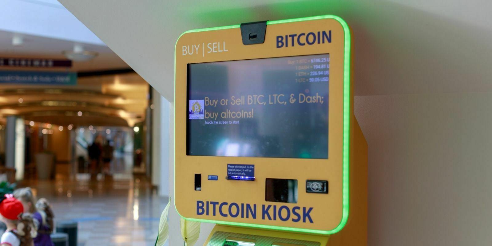 Un nouvel ATM Bitcoin (BTC) sort de terre toutes les heures