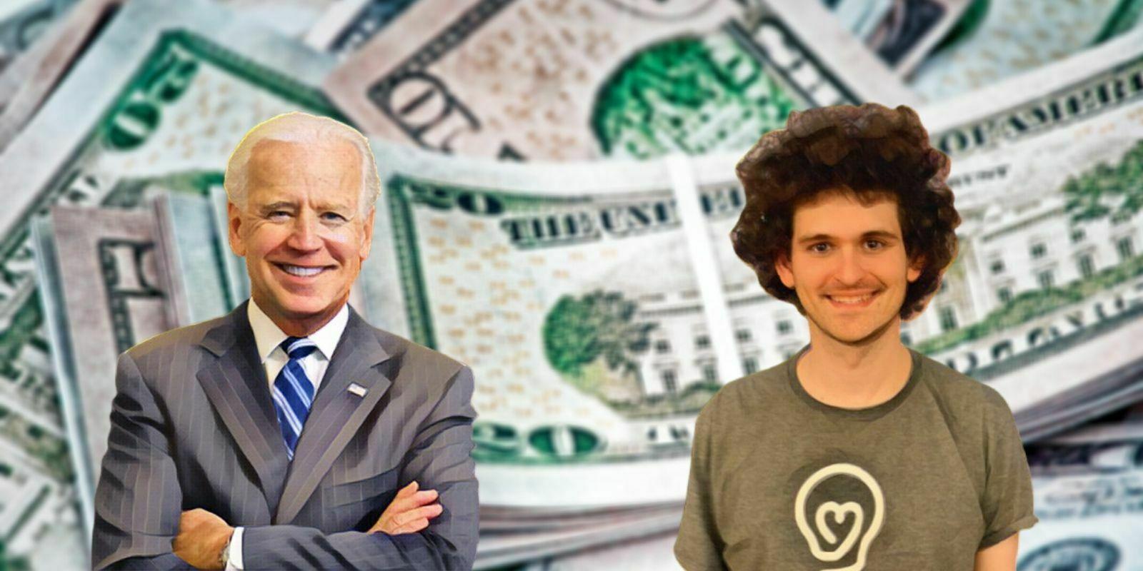 Le PDG de l'exchange FTX a fait un don de 5,2 M$ pour la campagne de Joe Biden