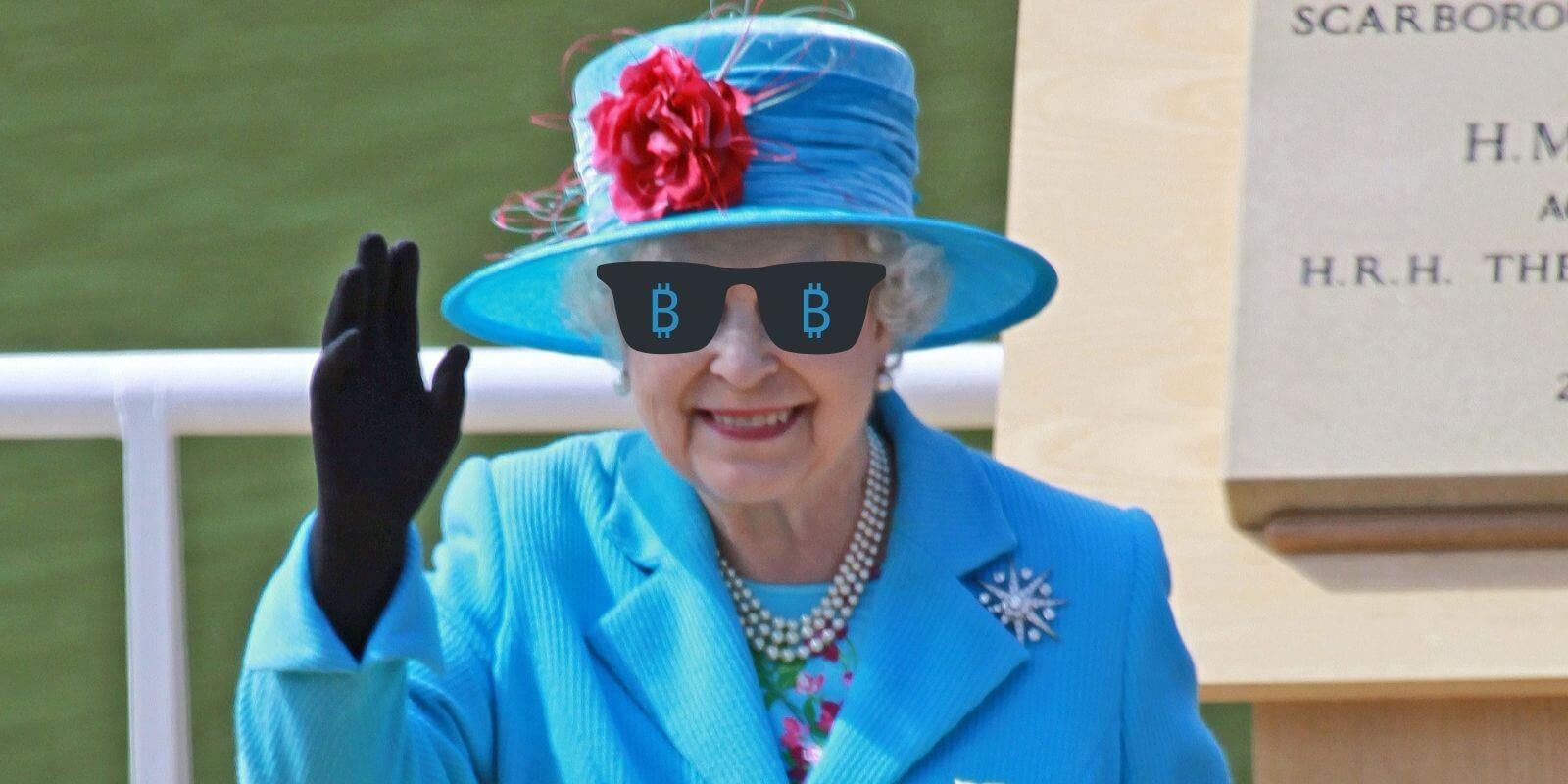 Royal - La Reine Elisabeth II communique son intérêt pour la blockchain