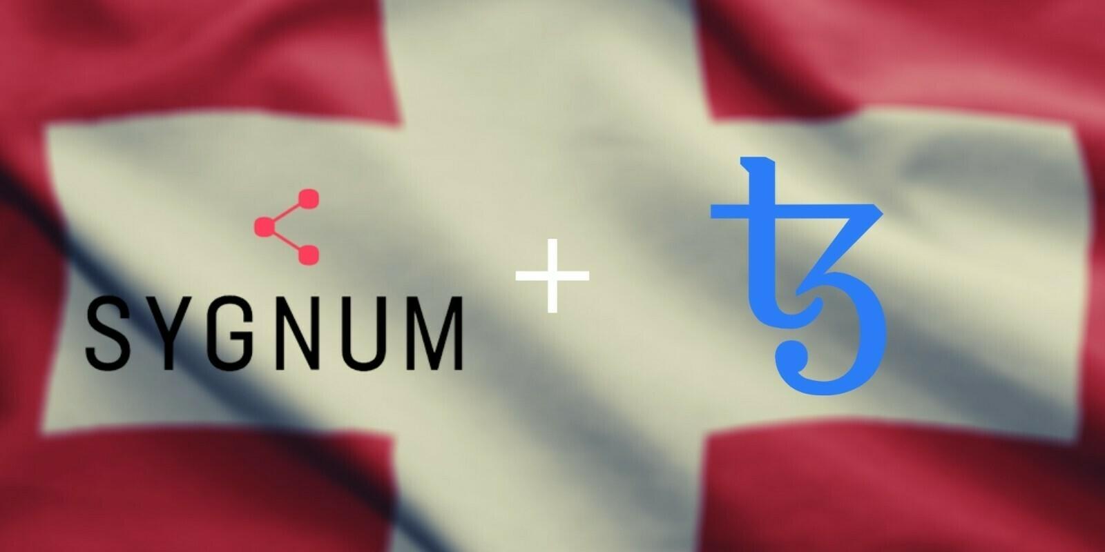 Suisse - La crypto-banque Sygnum introduit le staking de Tezos (XTZ) à ses clients