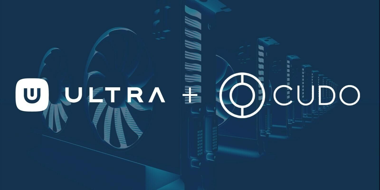 Ultra intègre la technologie Cudo pour son application de mining en un clic