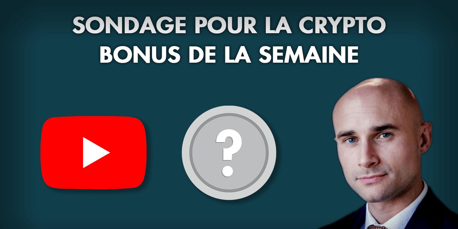 Sondage : Analyse Crypto Bonus de Vincent Ganne sur YouTube