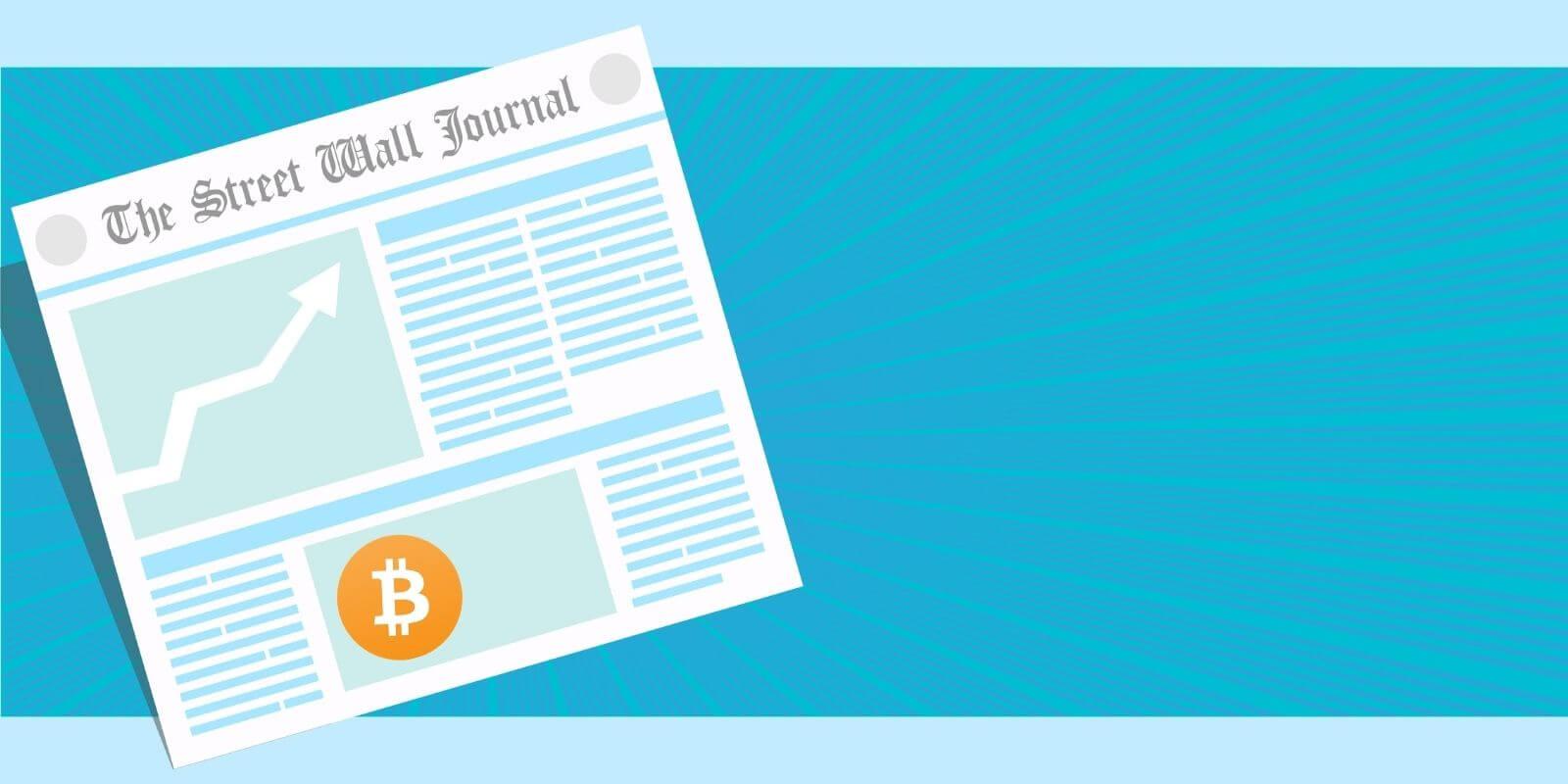 Le Bitcoin (BTC) s'invite sur la Une du Wall Street Journal