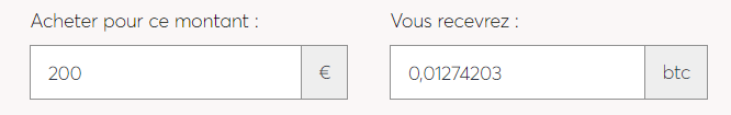 Achat Bitcoin Paymium