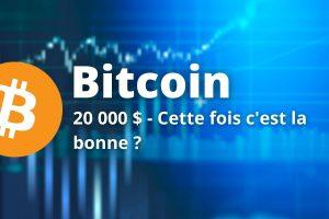 Le Bitcoin (BTC) retourne à l'attaque de sa résistance des 20 000$