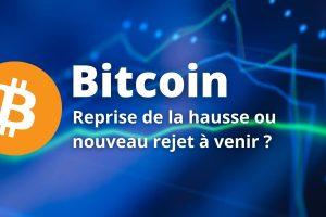 Le Bitcoin (BTC) en pleine indécision au contact de ses sommets historiques