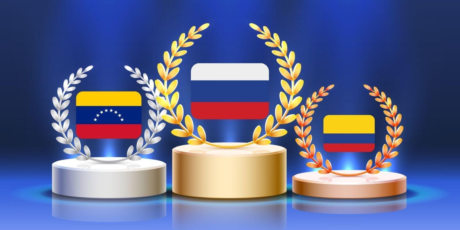 Échanges P2P: qui sont les champions du monde?