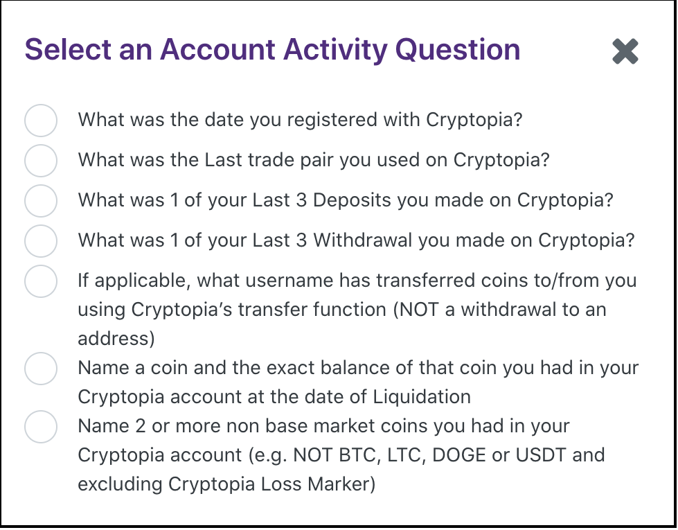 Claim Cryptopia