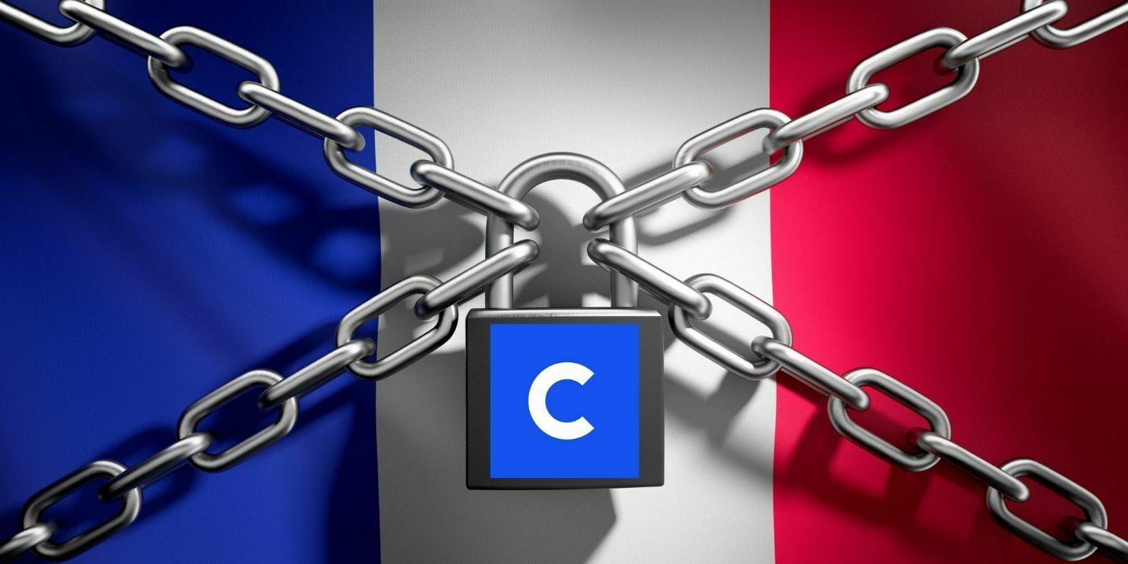 Coinbase bloque les comptes des utilisateurs français depuis 24 heures