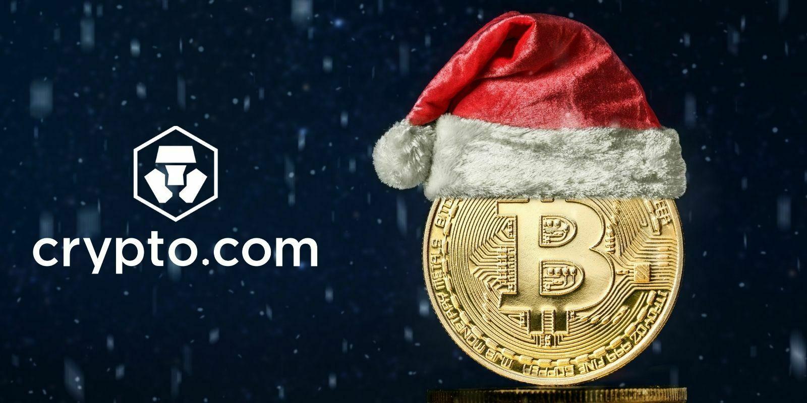 Crypto.com lance un calendrier de l'Avent d'événements pour ses utilisateurs