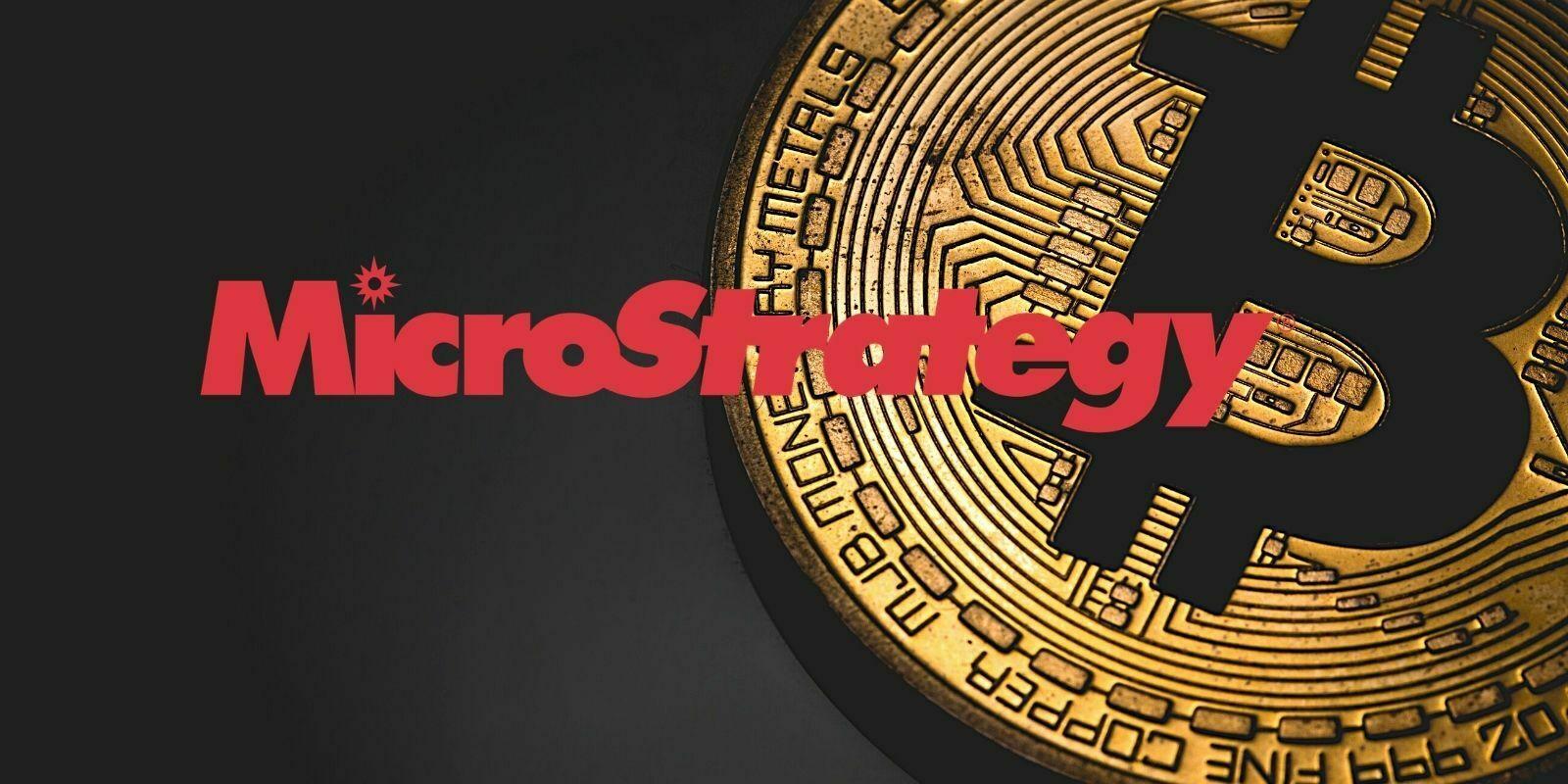 L'entreprise MicroStrategy, cotée au Nasdaq, détient désormais 40824 bitcoins (BTC)
