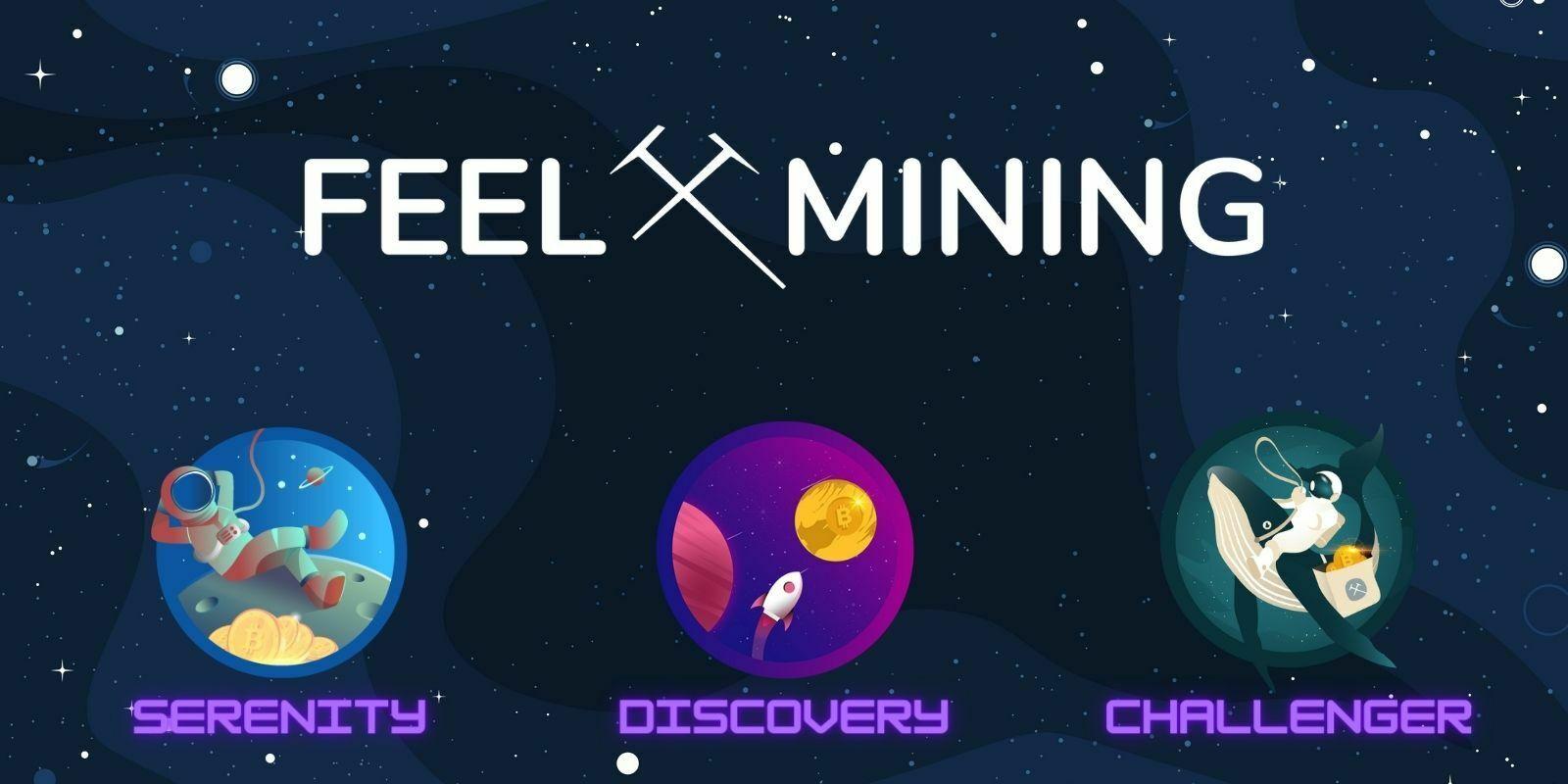 Feel Mining lance une solution d'investissement inédite pour cryptomonnaies