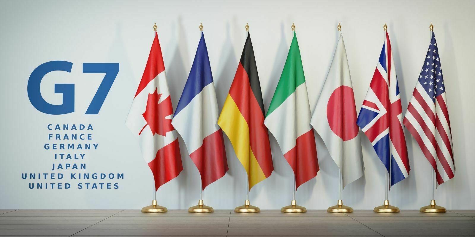 Le G7 soutient fermement la nécessité de réglementer les cryptomonnaies