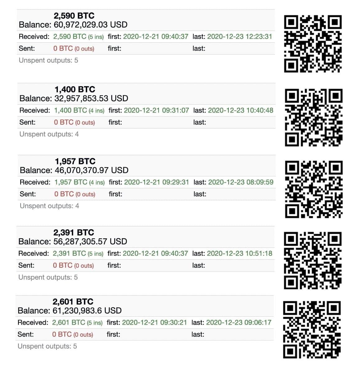 retrait de bitcoins de coinbase vers adresse dédiée sur cold wallet