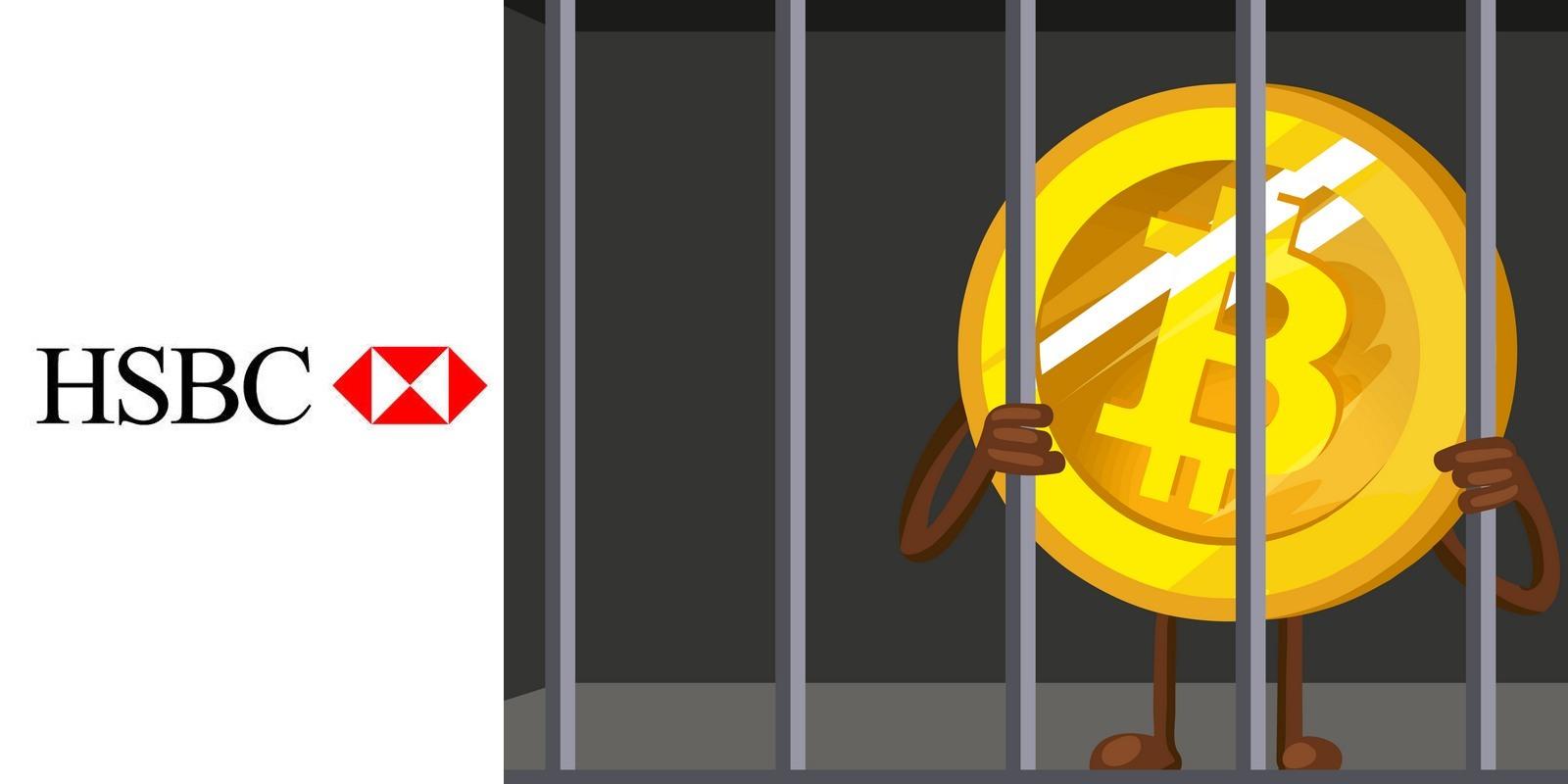 HSBC bloque les plateformes d'échange de cryptomonnaies