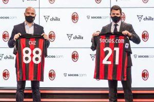 L'AC Milan lance un fan token destiné à ses 450 millions de supporters