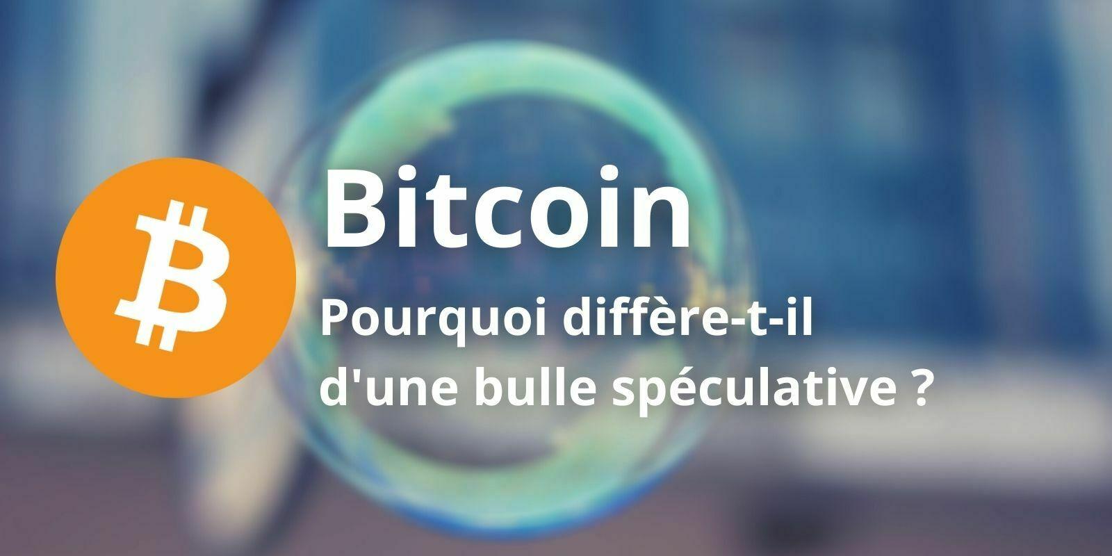 Le Bitcoin (BTC) est-il une bulle spéculative ?