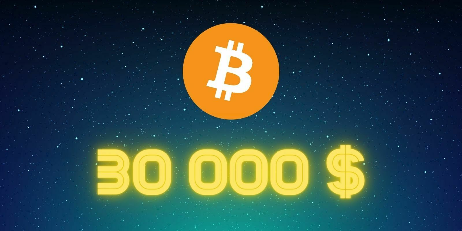 Le Bitcoin (BTC) franchit la barre des 30 000 $