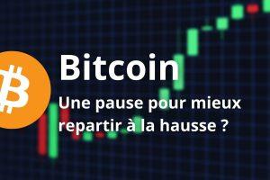 Bitcoin (BTC) - Un retracement bénéfique pour la tendance de fond