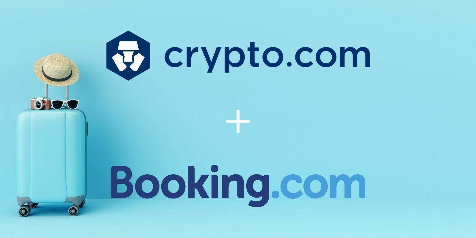 Crypto.com s'associe à Booking.com pour offrir des réductions exclusives