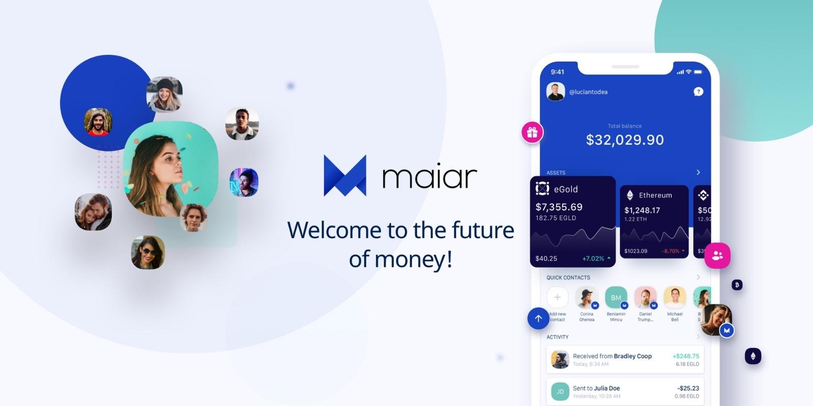 Elrond (EGLD) annonce le lancement officiel de l'application Maiar