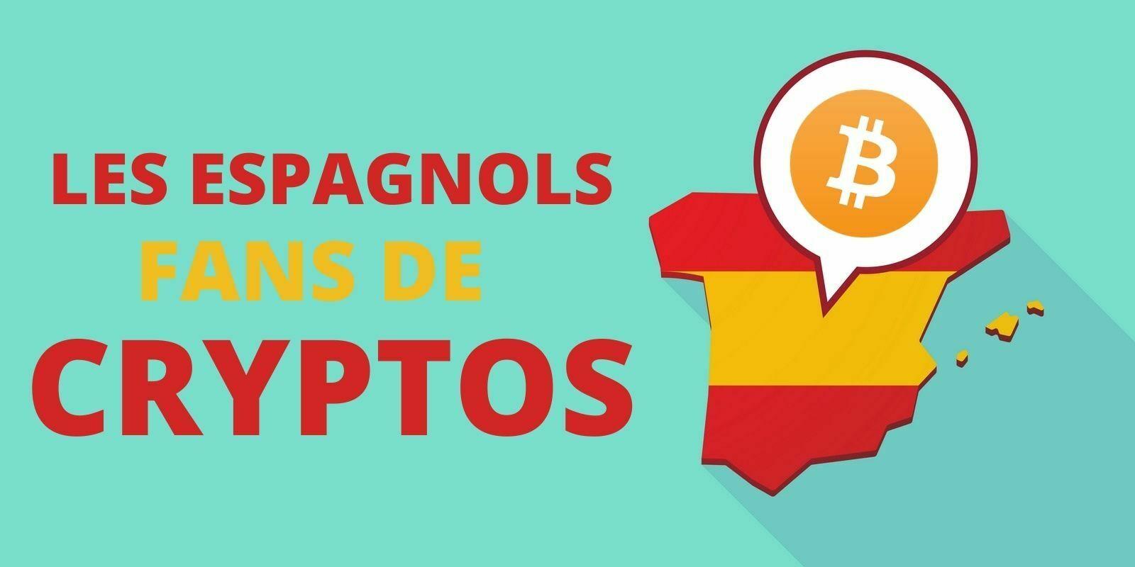 Espagne : 10% de la population détiendrait de la cryptomonnaie