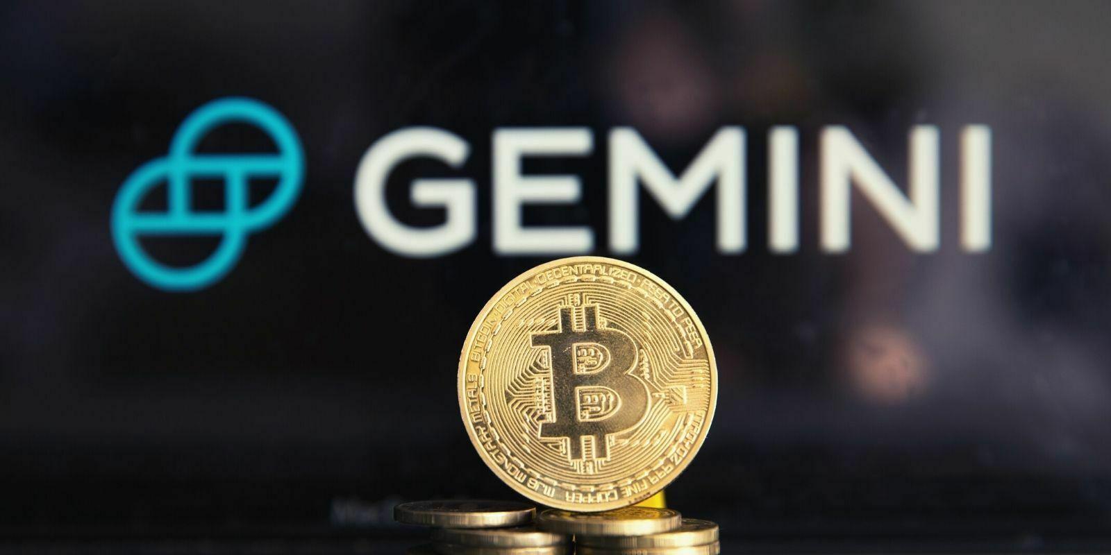 Gemini lance une crypto-carte avec jusqu'à 3% de cashback en Bitcoin (BTC)